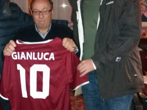 Gianluca e il calcio