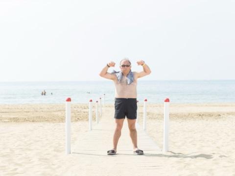 Gianluca in spiaggia 2018